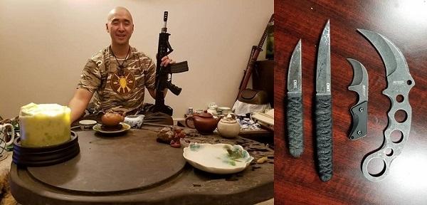 통일교 문형진의 총칼을 앞세운 비상식적 무력시위