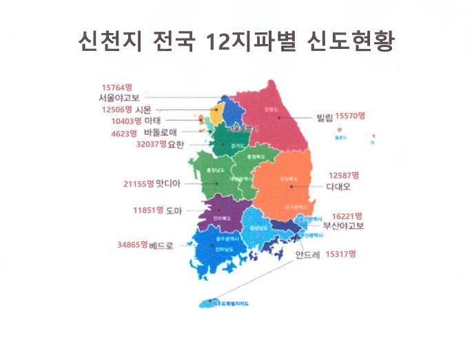 2018년 신천지 현주소