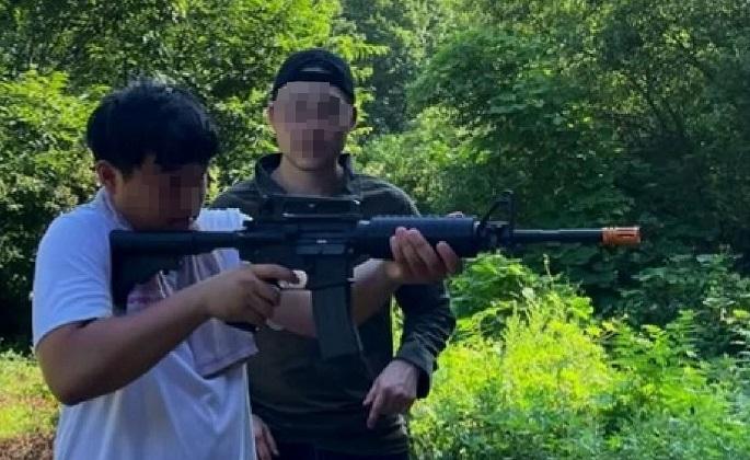 문형진 통일교, 경기도에서 총기 훈련 실시
